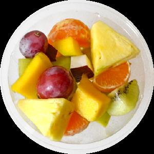 Tarrina de fruta variada