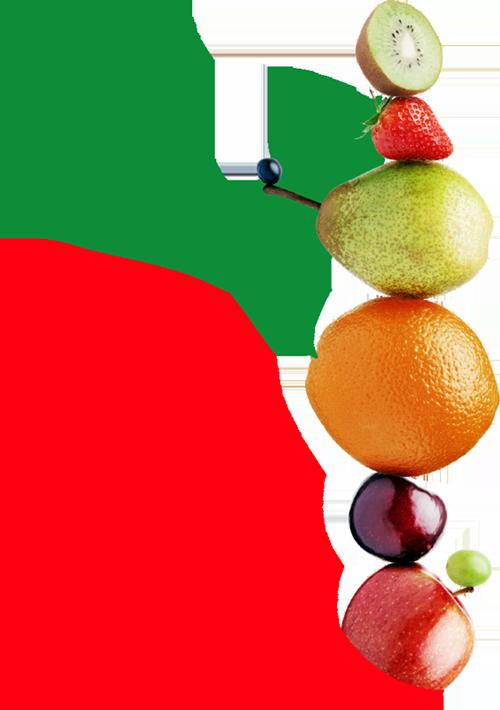 Arisfresc símbolo con fruta