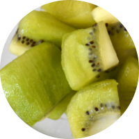 Fruta envasada: kiwi