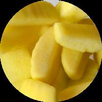 Fruta envasada: manzana